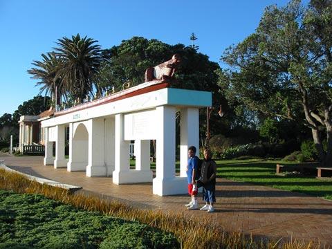 Aotea Waka Monument