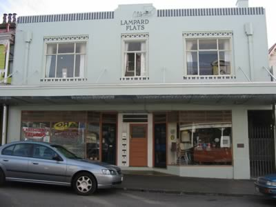 The Lampard flats in Upper Cuba Street, Wellington