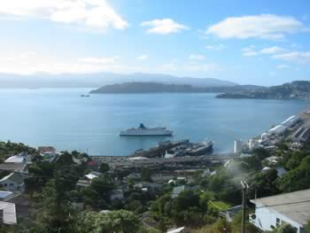 Wellington from Wadestown